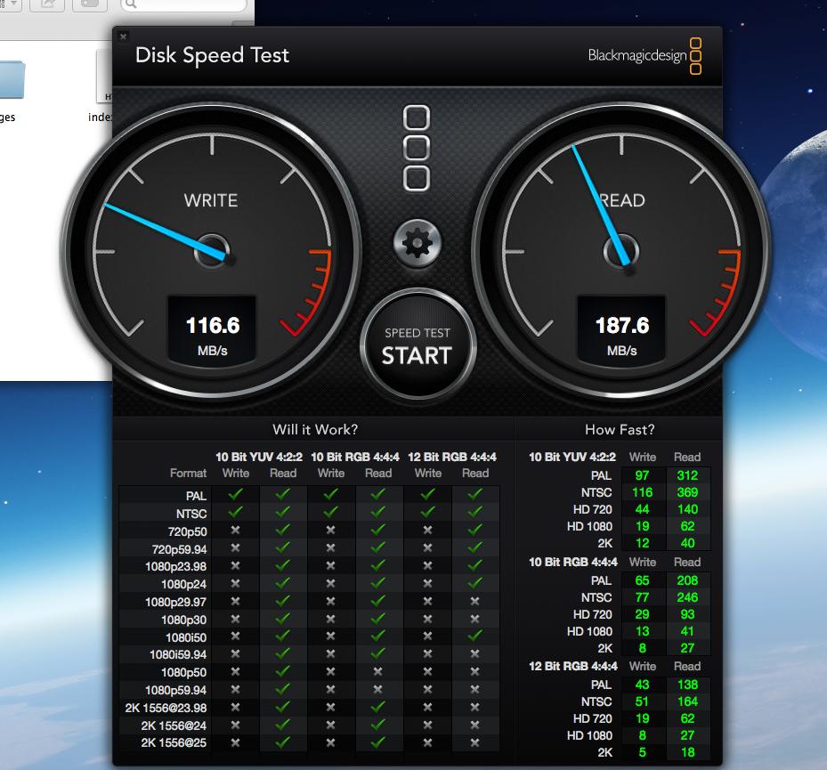 Speed test A80